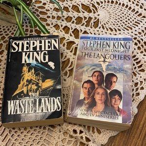 2 Vintage Stephen King Books!